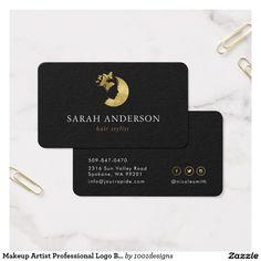 36 best makeup artist professional logo beauty salon business card