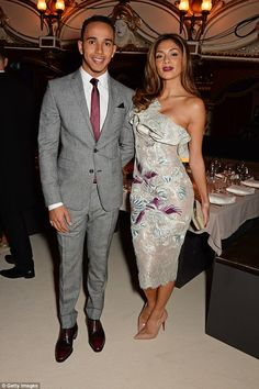 In the past: The romance followed the end of her seven-year relationship with racing driver Lewis Hamilton