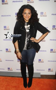 Marsha Ambrosius at the Dark and Lovely Au Naturale Curl Power Celebration at Arena in New York City