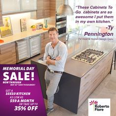 This Memorial Day is the best time to upgrade your kitchen. Pick the best deal from the already low prices. Visit CabinetsToGo.com or your local Cabinets To Go store to get started. #CabinetsToGo