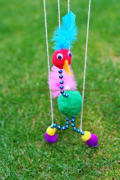DIY string puppet