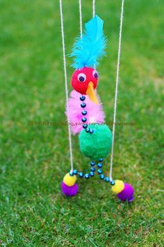 DIY string puppet