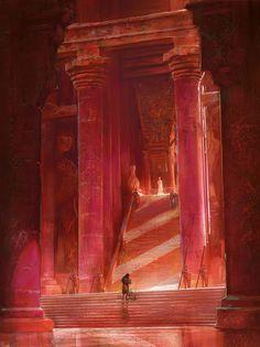 """Dance with Dragons"", Marc Simonetti on ArtStation at https://www.artstation.com/artwork/dance-with-dragons"
