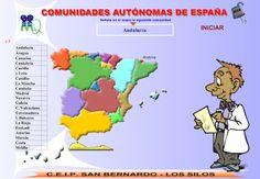 La Caseta, un lloc especial: Comunitats autònomes i províncies