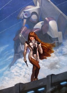 Xenogears - Elly by Jake Murray. I love Elly.