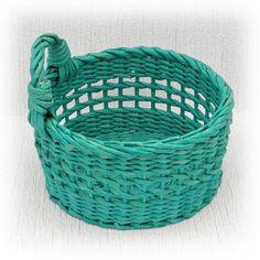 Корзина для кухни плетеная от WeavingAndVintage на Etsy