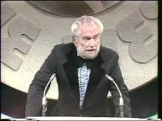 1973, here is Foster Brooks, playing the quintessential drunk, roasting Don Rickles, on a Dean Martin Celebrity Roast.