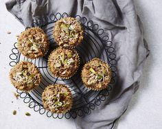 Apple Bircher Breakfast Muffins