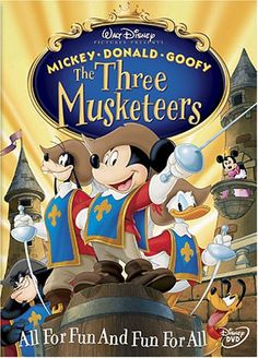 The Three Musketeers Disney http://www.amazon.com/dp/B0001I55VA/ref=cm_sw_r_pi_dp_Vx2zvb0ZBKB9F