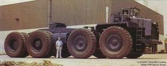 Terex/ M-X -8x8-1979 w/bolster style 5th wheel.......Big Boy for sure.