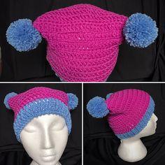 Ravelry: mrsjshandywork's Double Trouble Baby Beanie Double Trouble, Ravelry, Crochet Hats, Beanie, Projects, Baby, Knitting Hats, Log Projects, Blue Prints