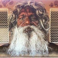 New Street Art by Sirum1 in Nothern Territory Australia #StreetArt
