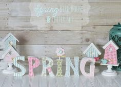 Hello all of you fans of The Wood Connection! I'm Amy from The Happy Scraps back again today sharing these fun Bird Houses & small Spring Letter Set. What is the first thing that you think of when you think Spring? I think of flowers, birds, and brighter colors than we have seen for a...Read More »