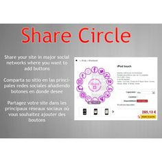 New module for social networks in #prestashop: Share circle