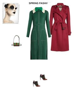 """#7342 - Burberry"" by pretty-girl-in-fashion ❤ liked on Polyvore featuring Burberry and sprinfashion"