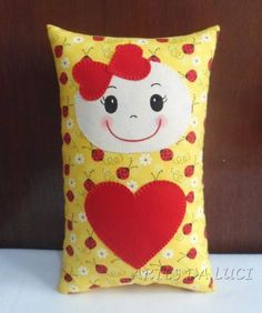 Sewing Crafts, Sewing Projects, Sewing Stuffed Animals, Fabric Toys, Cat Pillow, Sewing Pillows, Sewing Dolls, Felt Toys, Animal Pillows