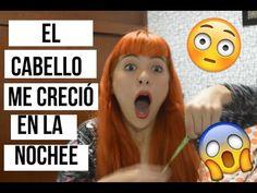 ¿EL CABELLO CRECE 2CM POR NOCHE?    FUNCIONA ♥ - YouTube