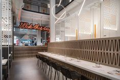 Luun Asian House, House Restaurant, Light Architecture, Contemporary Style, Minimalism, Restoration, Table, Furniture, Design