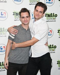 Brendon Urie and dallon weeks ❤
