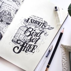 How To Write Calligraphy, Calligraphy Letters, Typography Letters, Typography Logo, Graphic Design Typography, Lettering Design, Hand Lettering Quotes, Creative Lettering, Brush Lettering
