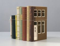 Ordinary Books Transformed into Charming Little Buildings - My Modern Metropolis