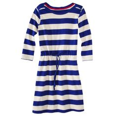 Merona® Women's Rugby Shirt Dress - Stripes...fits awesome! Can't wait to wear it.