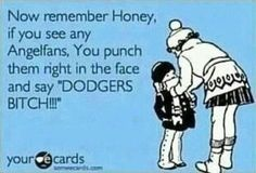 DODGERS! Did u do this sissy?? Hahaha @Ellen Page Byers