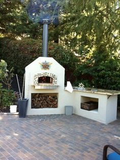 Mugnaini Outdoor Wood Fired Ovens - Pizza Oven eclectic ovens