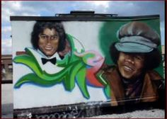 #MichaelJackson Street Art, location unkown - sorry - 2014 #MJAPWNN #DENoName