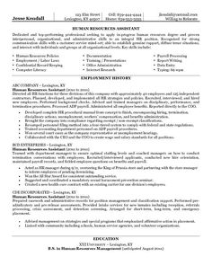 Hr Coordinator Resume Example | Human & Resources Sample Resumes ...