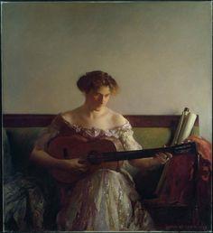The Guitar Player, 1908 Joseph Rodefer DeCamp (American, 1858–1923) Museum of Fine Arts, Boston