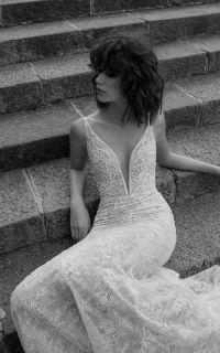 свадебное платье в стиле бохо Liz Martinez 02-17, пляжное