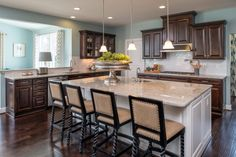 #modelhome #kitchen #islandcountertop