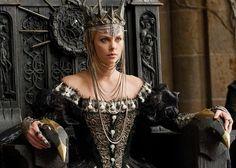 Theron as Queen Ravenna...