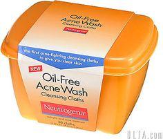 Neutrogena Oil Free Acne Wash Cleansing Cloths