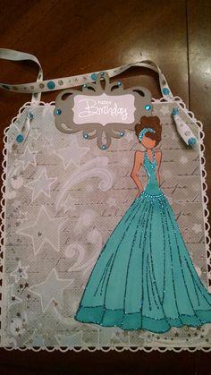 birthday card for Sandi