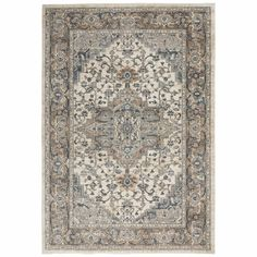 Find Sashi Gray/Beige/Cream Area Rug World Menagerie online. Shop the latest collection of Sashi Gray/Beige/Cream Area Rug World Menagerie from the popular stores - all in one Nourison, Rugs, Sand Beige, Trending Decor, Beautiful Rug, Oriental, Colorful Rugs, Area Rugs, Blue Area
