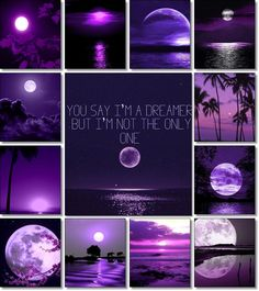 moodboard by AT.... Purple moon