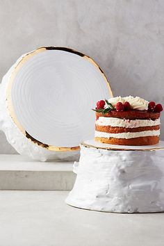 Cast Trunk Cakestand #anthropologie