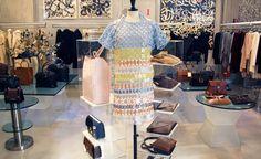 #Prada multi-colored knit top