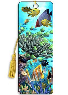 Artgame 3D Coral Garden Bookmark
