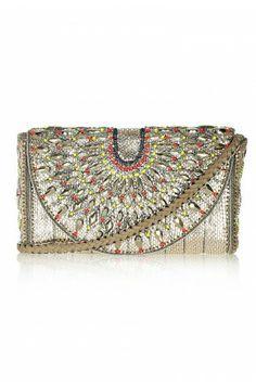 yves saint laurent purses - Vogue Loves: Sabyasachi embroidered clutches   Lusting After ...