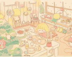 とある冬の日1 ■ カナヘイの家
