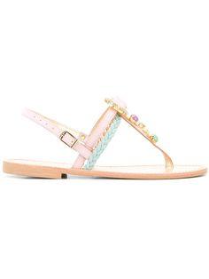 Shop Christina Fragista Sandals Thirassia sandals.