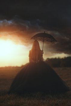 Into The Storm by TJ Drysdale Fine Art  Fantasy Conceptual