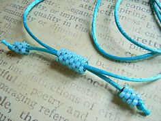 Beaded Cord Tutorial - Learn to do this!
