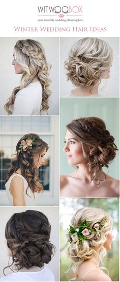 All the winter wedding hair ideas you need for your special day | Witwoobox