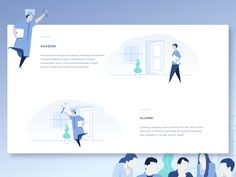 Illustration for Education Platform Website 2 by Anggit Yuniar Pradito #Design Popular #Dribbble #shots
