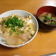 はい。馬鹿の一つ覚えです。(^_^;) - 2件のもぐもぐ - 親子丼&茄子の味噌汁♪ by gchan1721