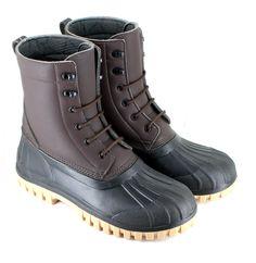 Duck Boot (Brown) - vegan - made in EU